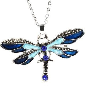 Jewelry - ✨🦋✨🦋New✨Blue Dragonfly Necklace🦋✨